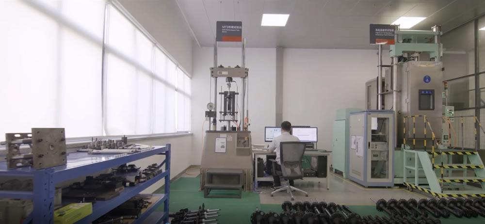 testing manufacturing shocks and struts